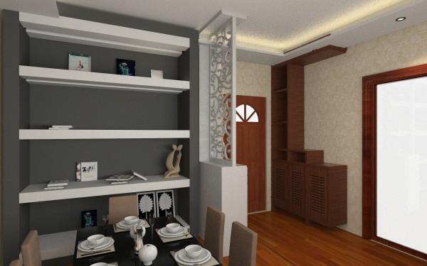 定稿方案(1)_铭悦庄园户型图-通铺木地板客厅,室内