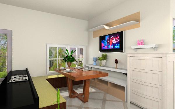 01户型3房有窗客厅,室内,厨房,卫生间等装修效果图大全
