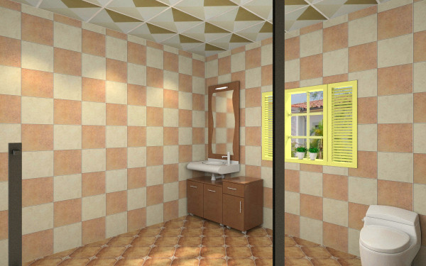 森林维尼儿童房客厅,室内,厨房,卫生间等装修效果图