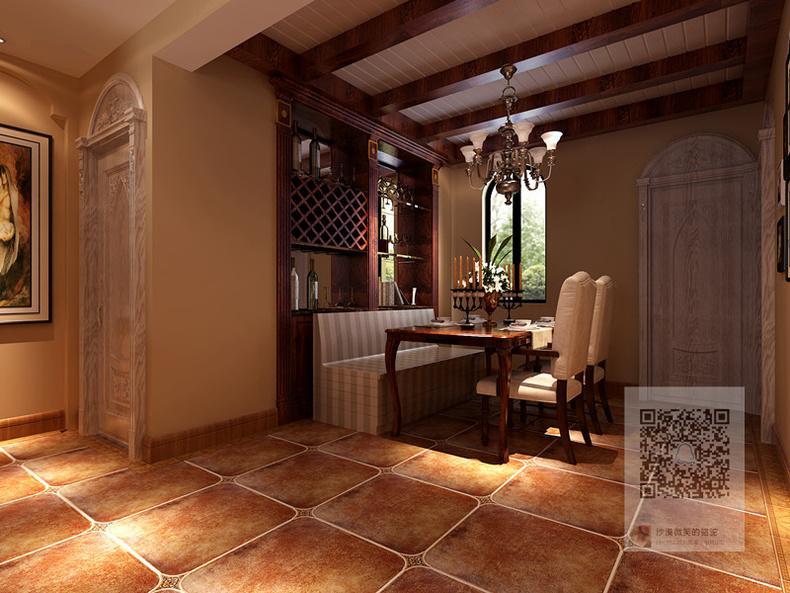 郑州153家属院美式风格装修效果图参考图片