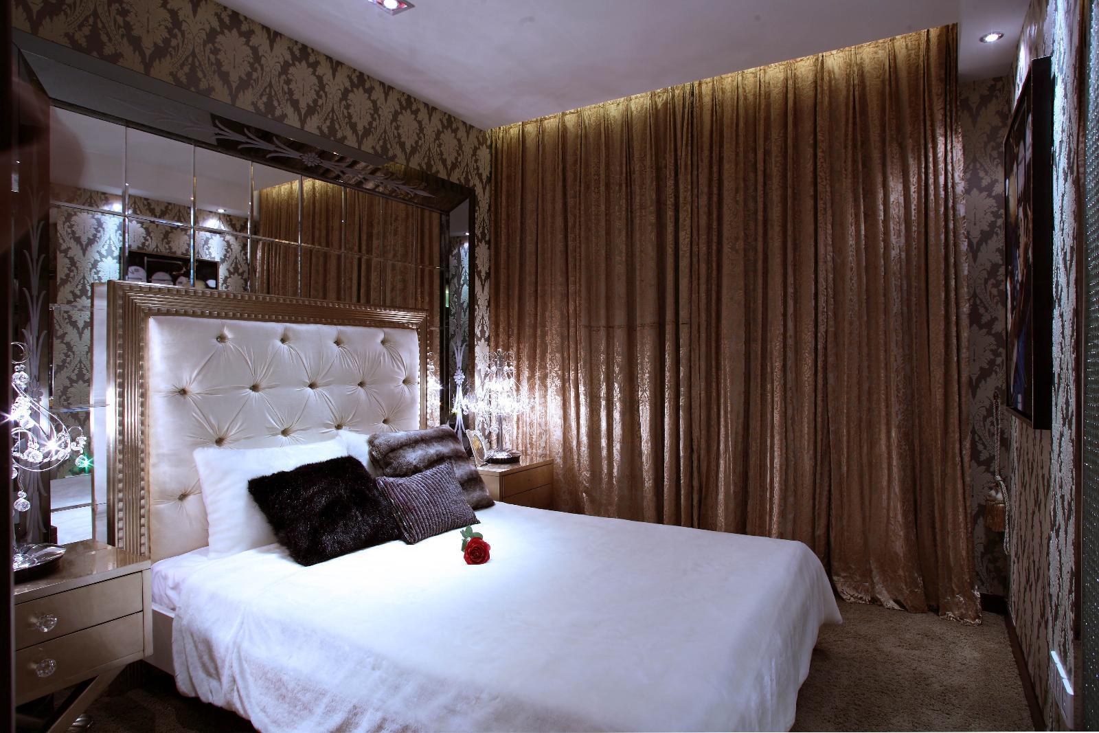 背景墙 房间 家居 酒店 设计 卧室 卧室装修 现代 装修 1600_1067图片