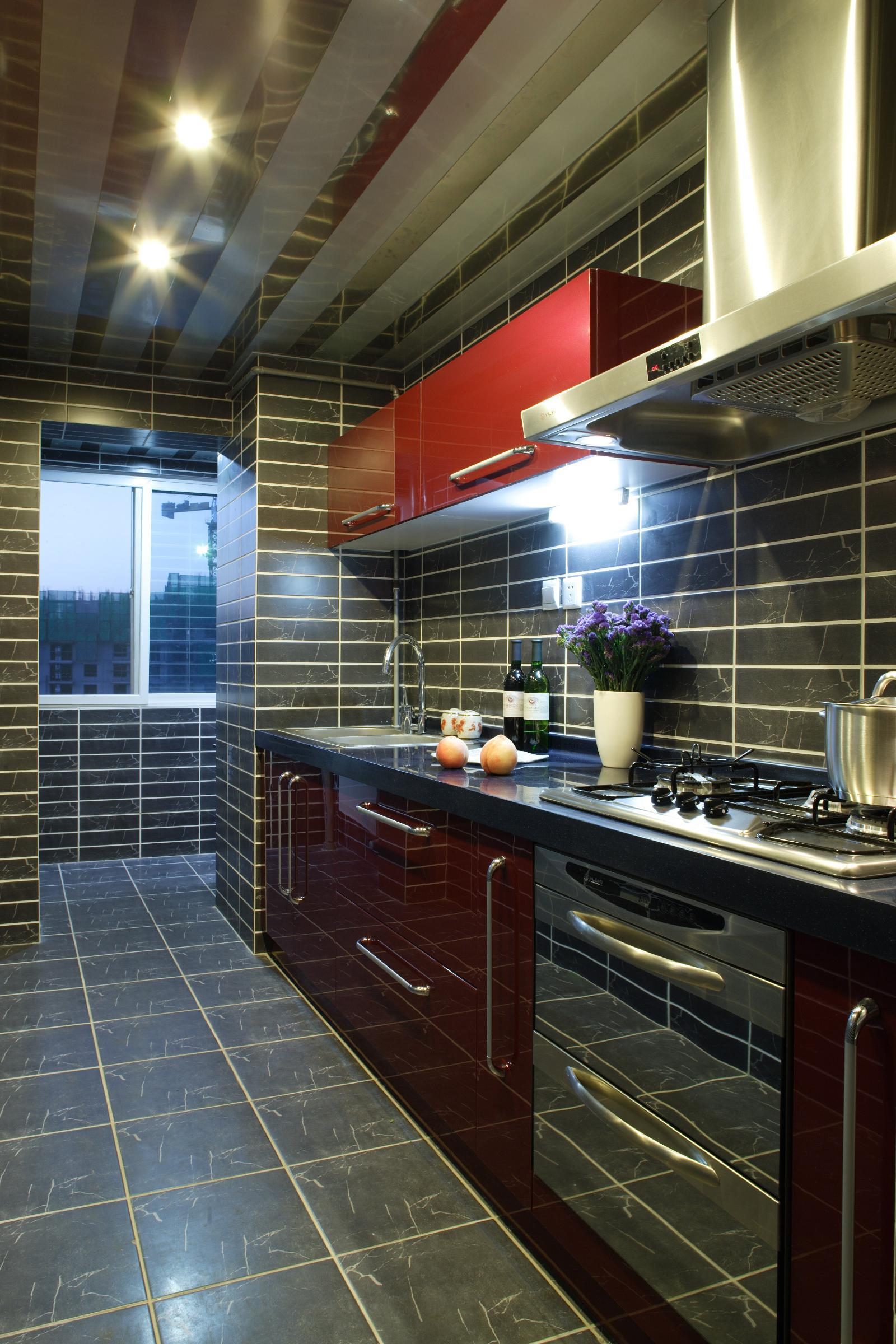1049 张后现代 厨房装修效果图