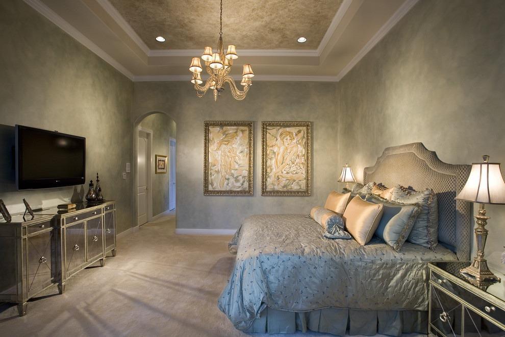 后现代卧室装修效果图大全2013图片