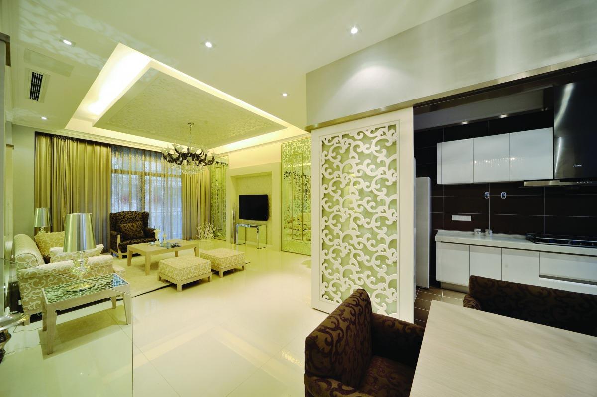 325 张韩式客厅装修效果图图片