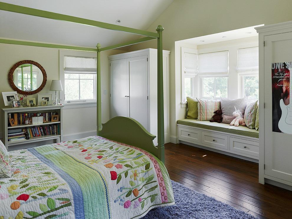 现代简约卧室飘窗装修效果图大全2013图片