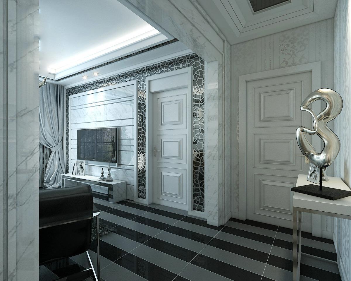 欧式玄关装修效果图大全2013图片_欧式玄关房屋家居图