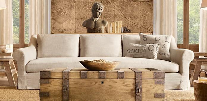 美式乡村沙发图片
