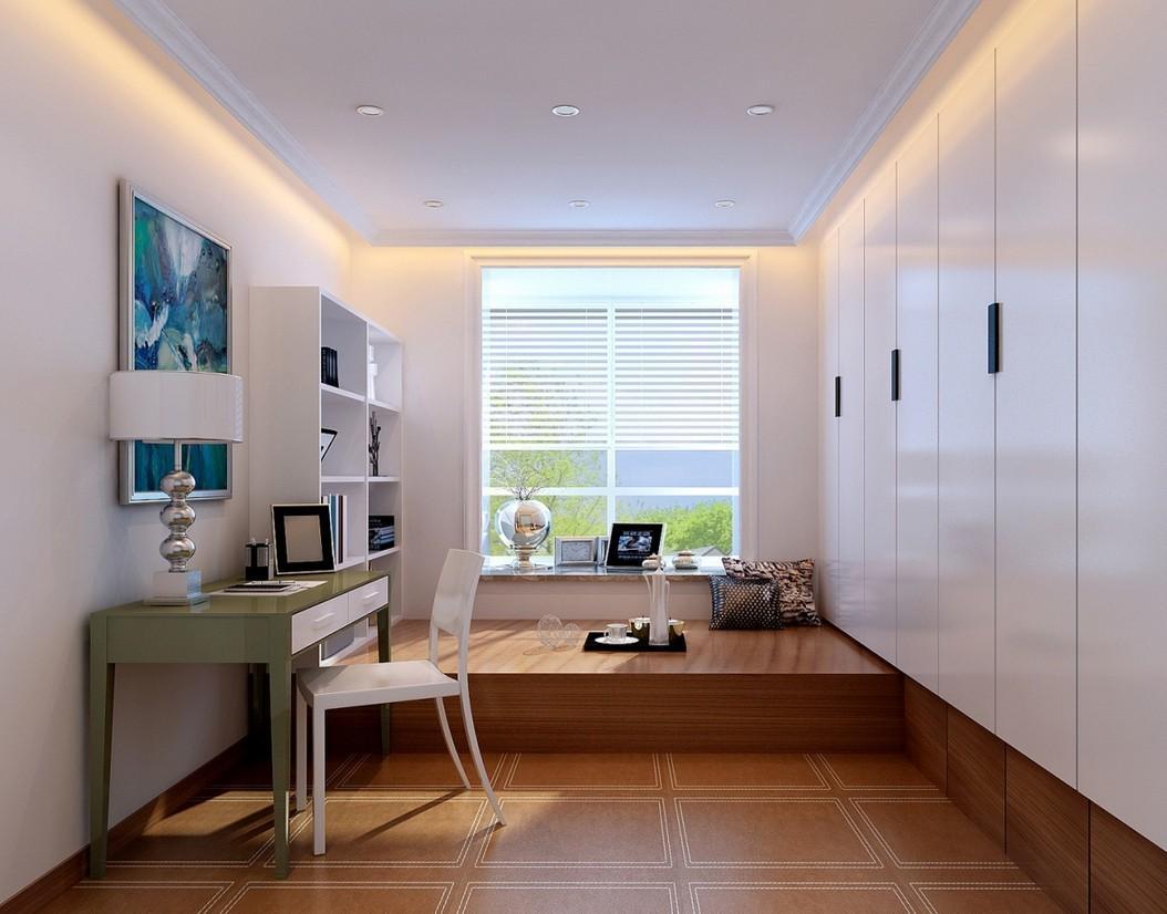 16款个性榻榻米效果图 一定有适合你家的设计