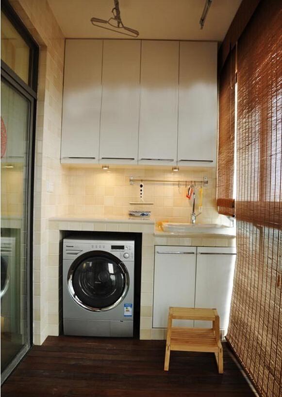 下面有33种洗衣机的摆放位置,一起来看看吧.