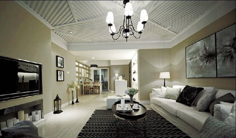 白墙应该搭配什么颜色的地板